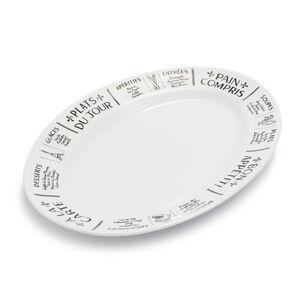 Plat du Jour Oval Platter