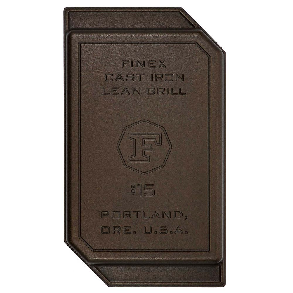 FINEX Cast Iron Lean Grill Pan, 15""