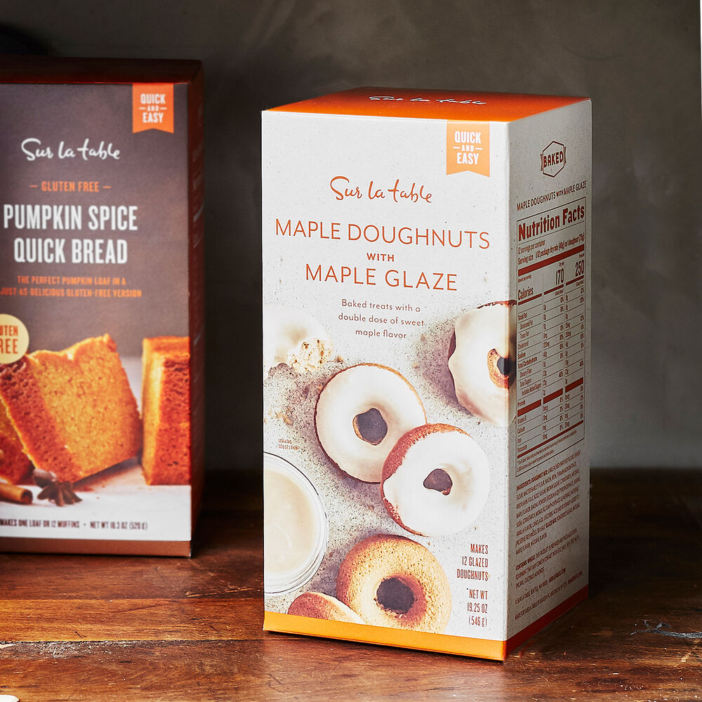 Maple Donut with Maple Glaze Mix