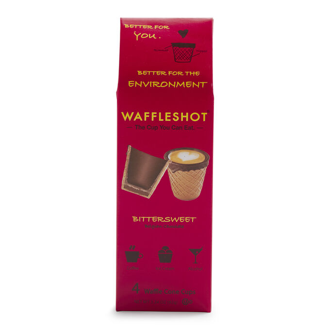 Bittersweet Chocolate Waffleshot