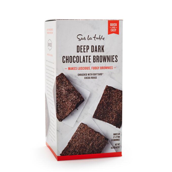 Sur La Table Deep Dark Chocolate Brownies