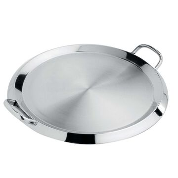 """Cristel Plancha/Griddle with Lid, 13.5"""""""