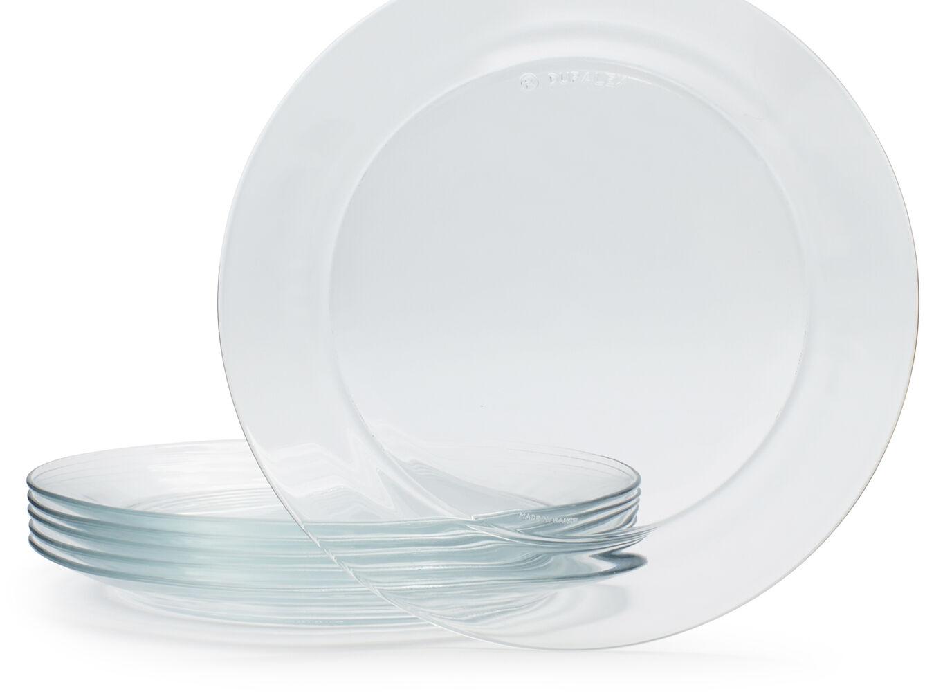 Duralex Lys Dinner Plate, Set of 6 | Sur La Table
