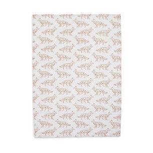 """Fox Flour Sack Towel, 30"""" x 20"""""""