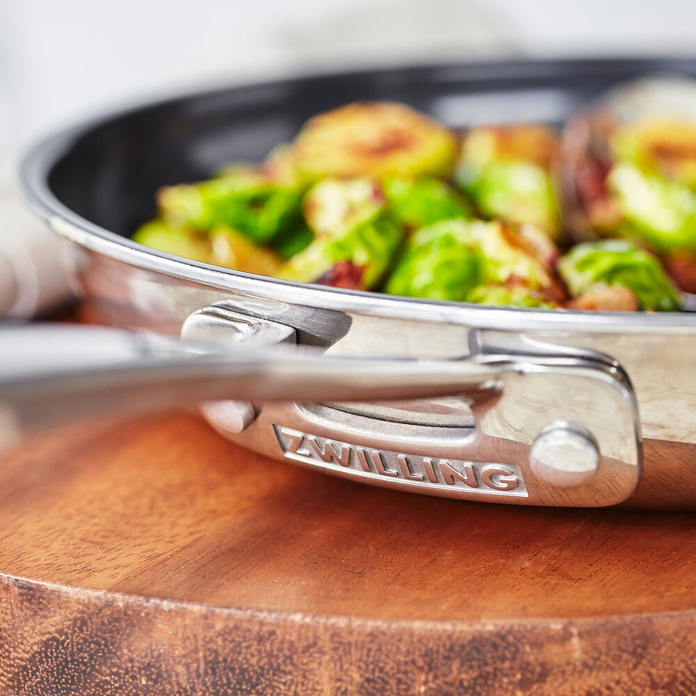 Zwilling Clad X3 Skillets, Set of 3