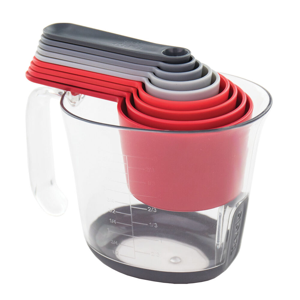 Tovolo 10-Piece Magnetic Nested Measuring Set