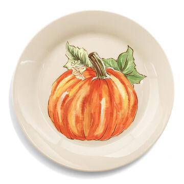 Pumpkin Salad Plates, Set of 4