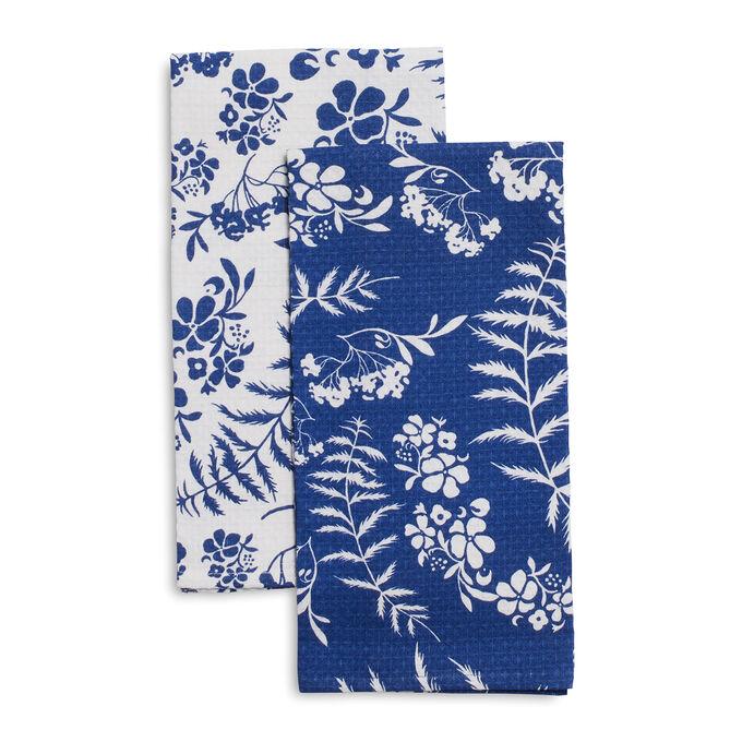 Elderflower Kitchen Towels by April Cornell, Set of 2