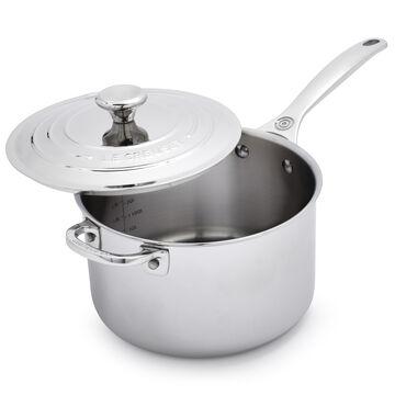 Le Creuset Stainless Steel Saucepan
