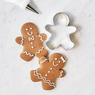 Gingerbread Cookie Mix with Icing Mix & Gingerbread Cookie Cutter