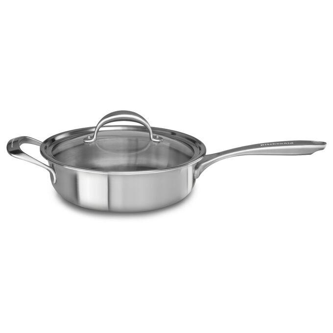 KitchenAid® Copper Core Sauté Pan with Lid, 3.5 qt.