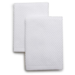 "Organic Cotton Dishcloths, 13"" x 13"", Set of 2"