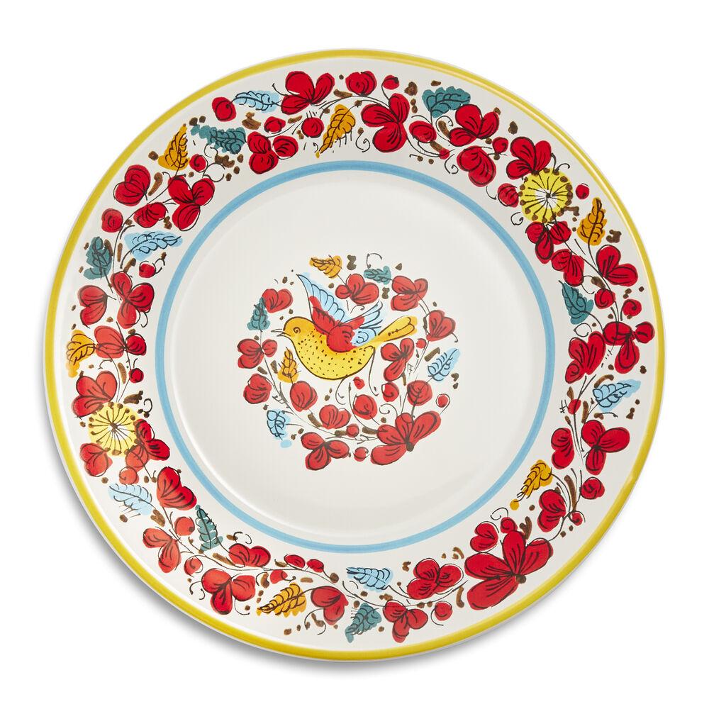 Nova Deruta Bird Salad Plate