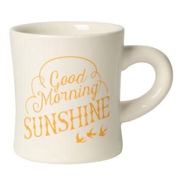 Good Morning Sunshine Diner Mug, 12 oz.