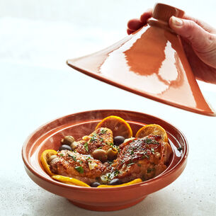 Glazed Terra Cotta Tagine