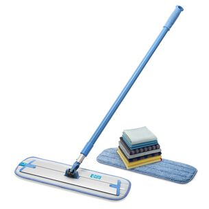 E-Cloth Home Cleaning Microfiber Cloth & Mop Combo, Set of 10
