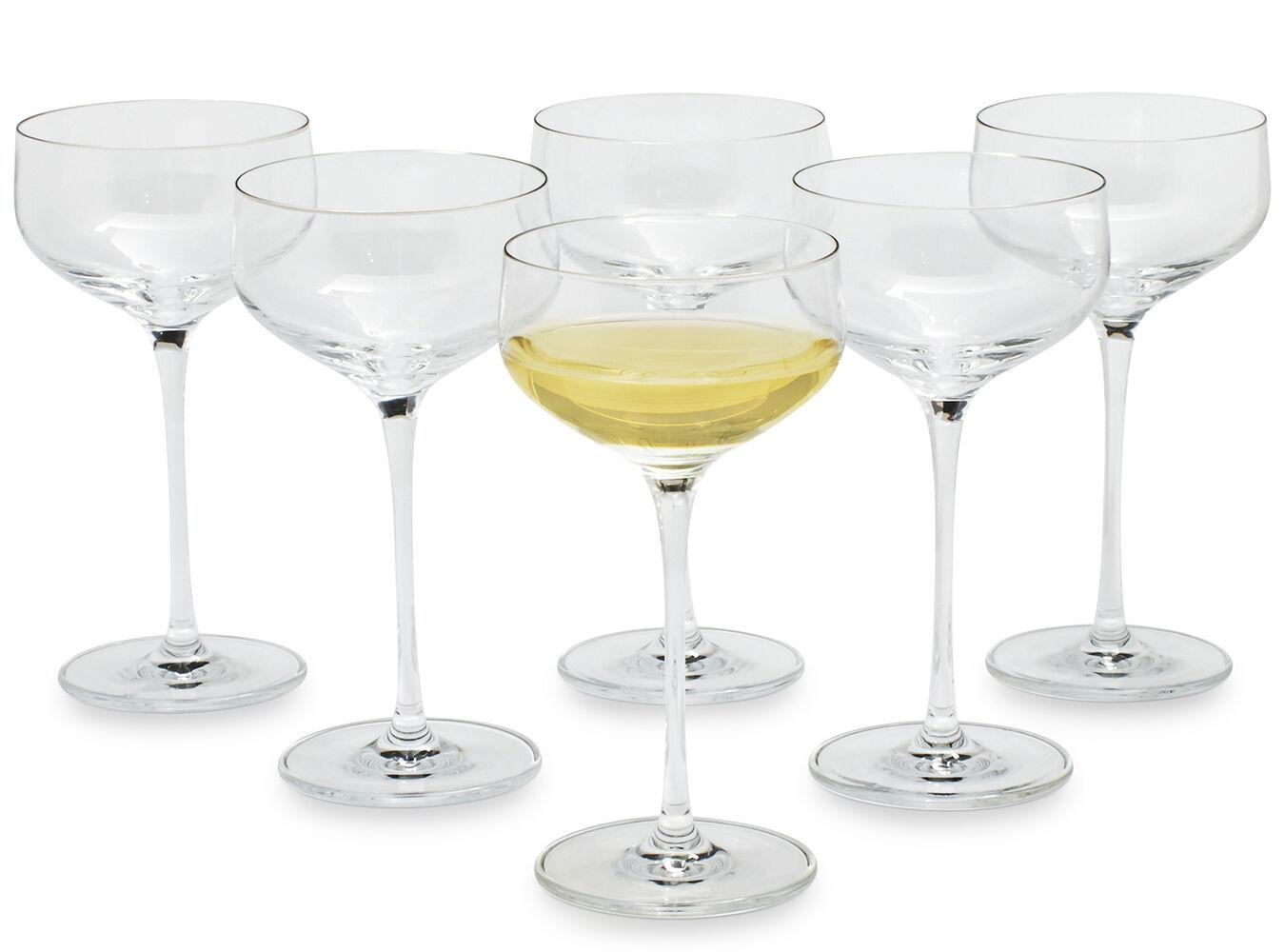 Schott Zwiesel Air Dessert Wine Glasses, Set of 6 | Sur La Table