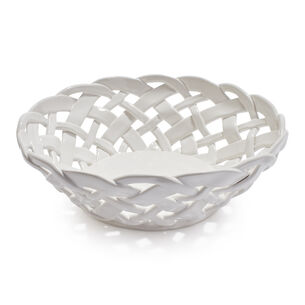 Round Ceramic Basket