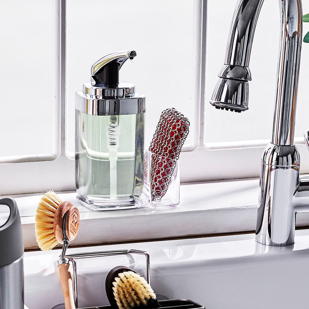 simplehuman Soap Dispenser and Caddy