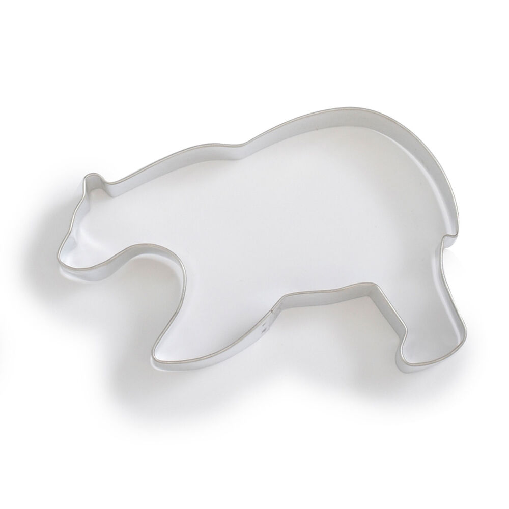 Grizzly Bear Cookie Cutter, 5.13""