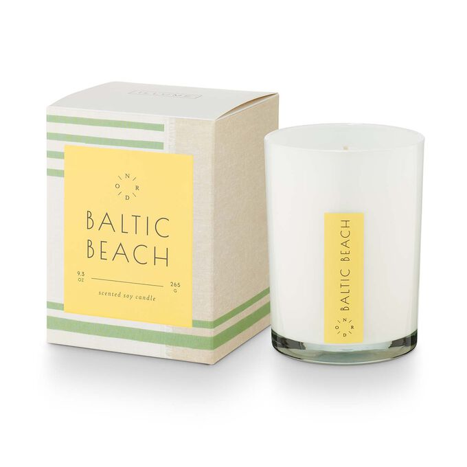 Illume Baltic Beach Seafare Glass Candle, 9.3 oz.