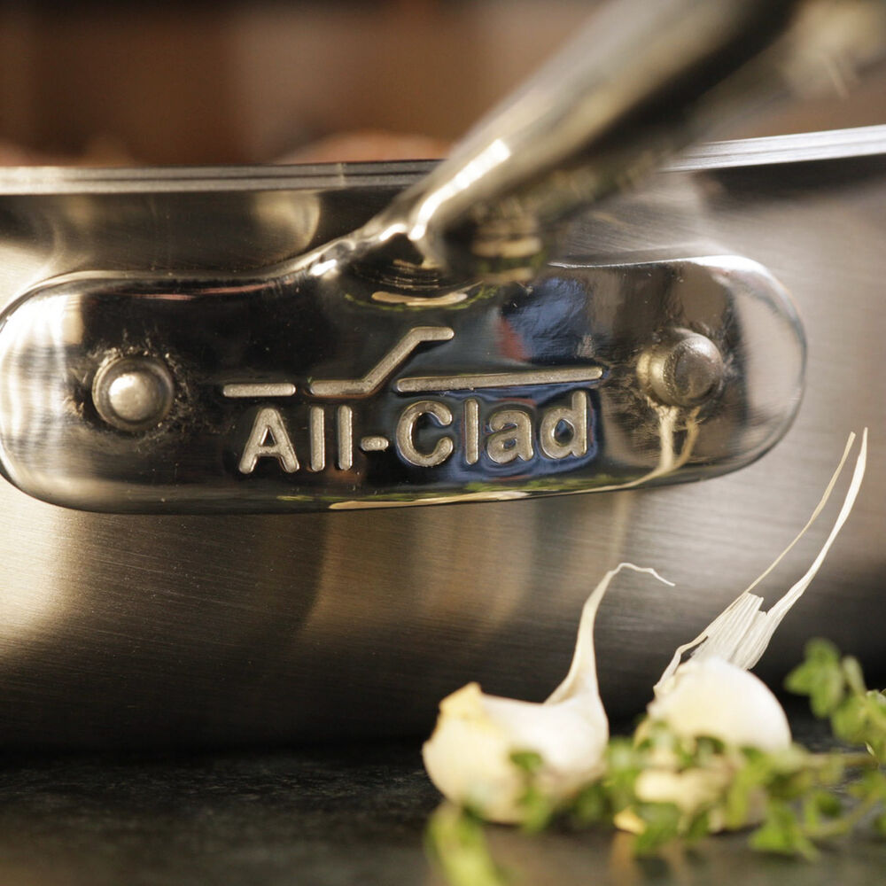 All-Clad d5 Brushed Stainless Steel 7-Piece Set