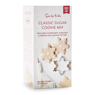 Classic Sugar Cookie Mix with Icing Mix & Snowflake Cookie Cutter