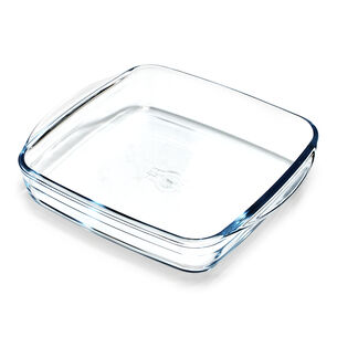 "Ô Cuisine Glass Square Baking Dish, 8.6"" x 8.6"""