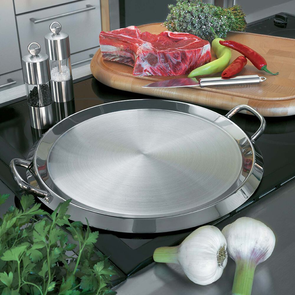 Cristel Plancha/Griddle with Lid, 13.5""