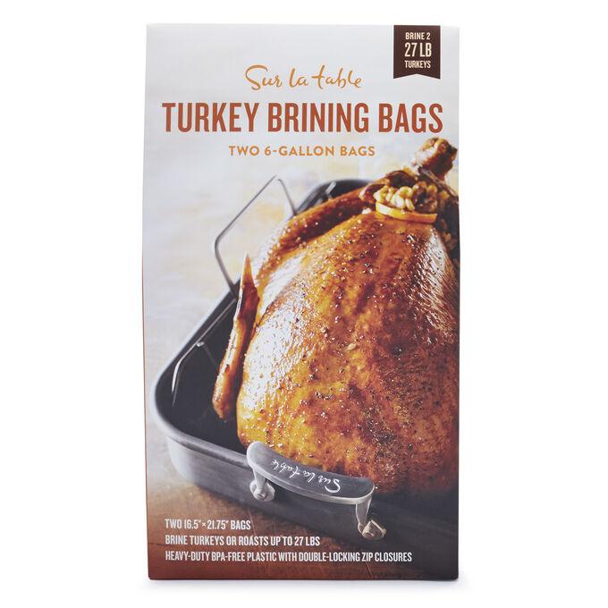 Sur La Table Turkey Brining Bags, Set of 2