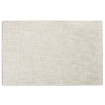 Chilewich Basketweave Floor Mat, Khaki