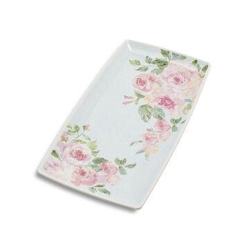 Rose Nuage Melamine Rectangular Platter