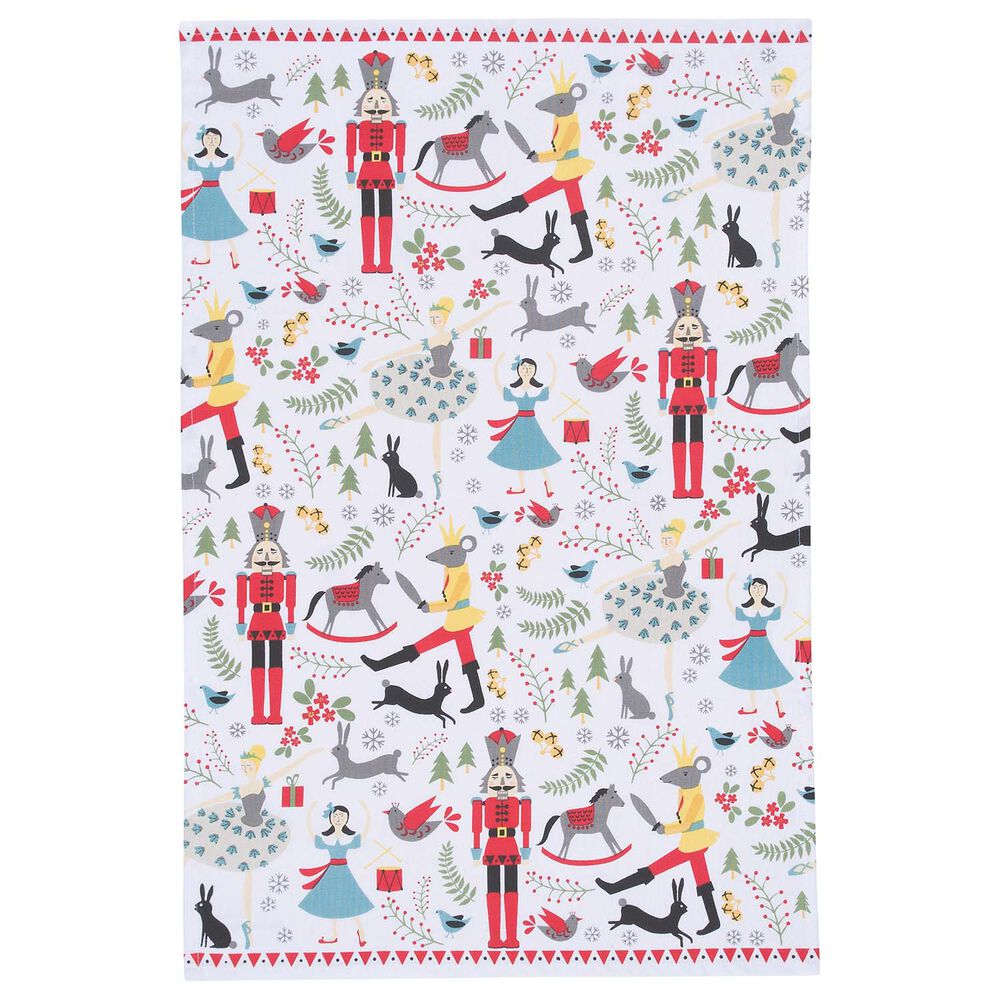 "Nutcracker Kitchen Towel, 28"" x 18"""