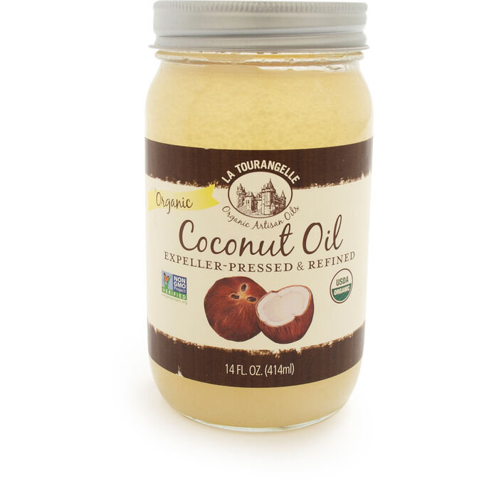 La Tourangelle Organic Coconut Oil, 14 oz.