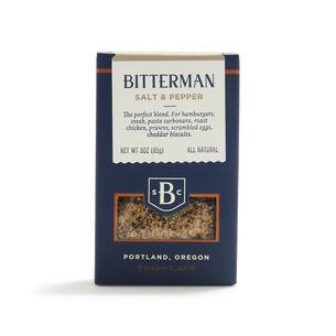 Bitterman Salt & Pepper, 3 oz.
