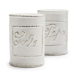 Italian Salt & Pepper Shaker Set