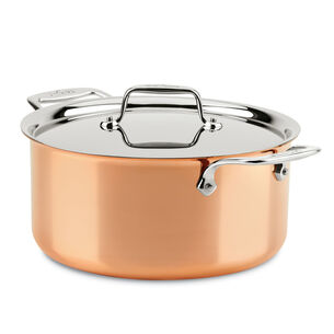 All-Clad c4 Copper Stockpot with Lid, 8 qt.