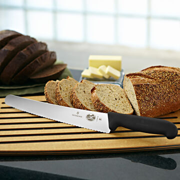 Victorinox Fibrox Pro Serrated Bread Knife, 10""