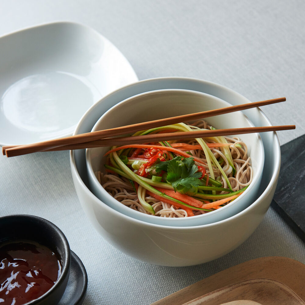 Twisted Bamboo Chopsticks, Set of 5