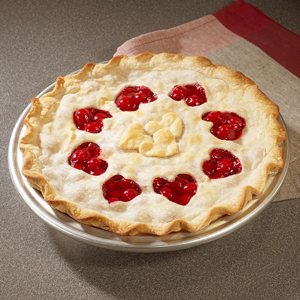 """Nordic Ware Lattice & Hearts Pie Cutter, 12"""""""