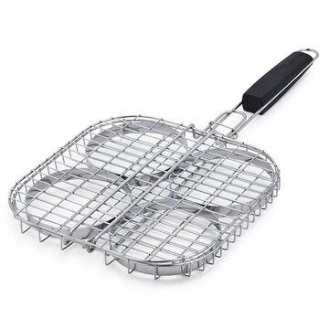 Sur La Table Stainless Steel Burger Basket
