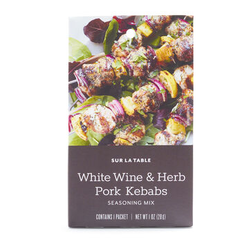 Sur La Table White Wine & Herb Pork Kebabs Seasoning Mix