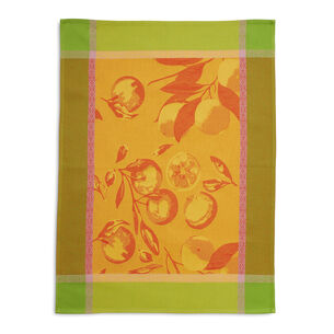 "Jacquard Citrus Kitchen Towel, 28"" x 18"""