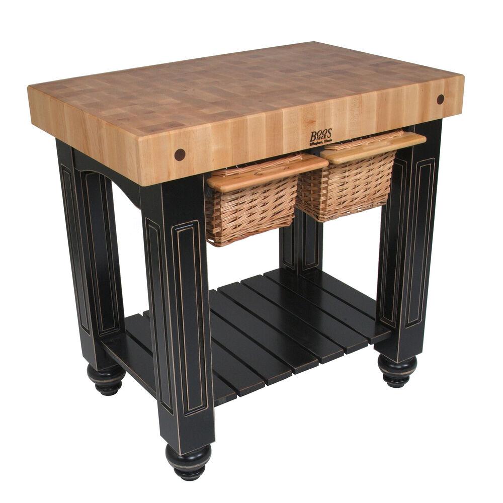 "John Boos & Co. Gathering Block Tables, 36"" x 24"""