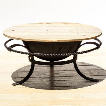 Sea Island Forge Cypress Table Top, 30 gallon