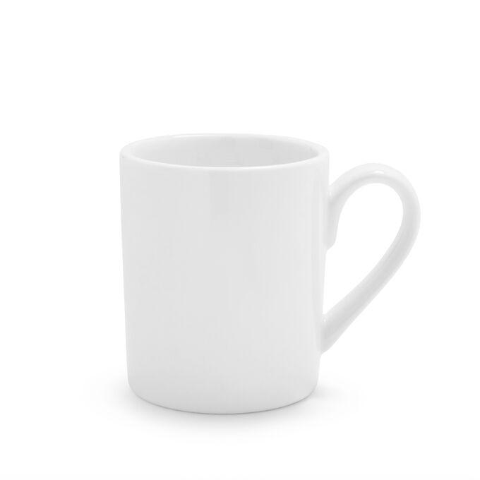 Porcelain Double Espresso Mug
