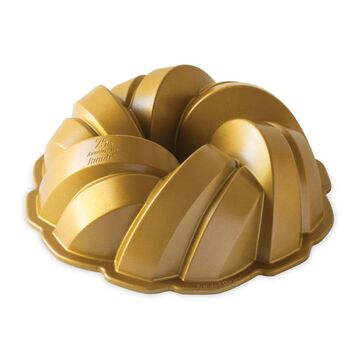 Nordic Ware 75th Anniversary Braided Bundt® Pan, 12 Cups