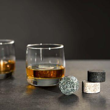 Viski Whisky Stone Glacier Rocks, Set of 4