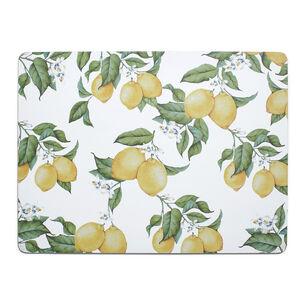 Lemon Cork Placemat
