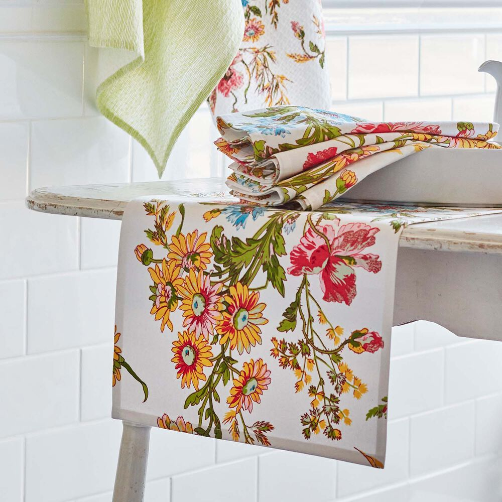 "Wildflower Table Runner by April Cornell, 72"" x 13"""